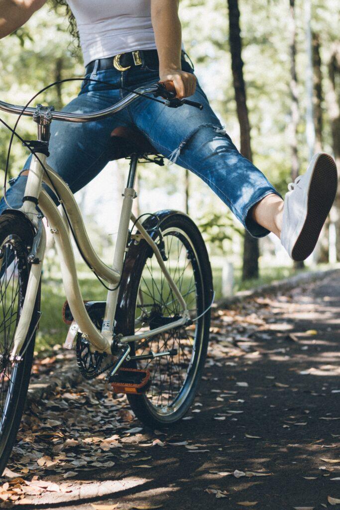 Bike riding for outdoor activities